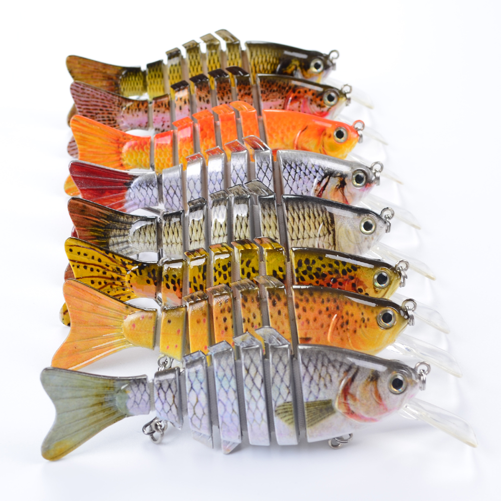 1ps/lot Lures Fishing Lures Hard Bait Fresh Water Bass Walleye Crappie Minnow Artificial Bait Artificial Lures wldslure 1pc 54g minnow sea fishing crankbait bass hard bait tuna lures wobbler trolling lure treble hook