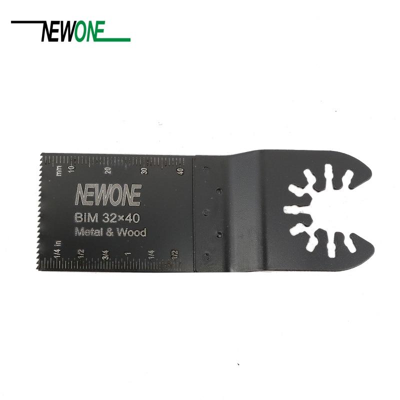 Free Shipping Quick Change Bi-metal 32mm Renovator Dremel Accessories Oscillating Multi Tool Saw Blade Fit For Black&Decker Etc