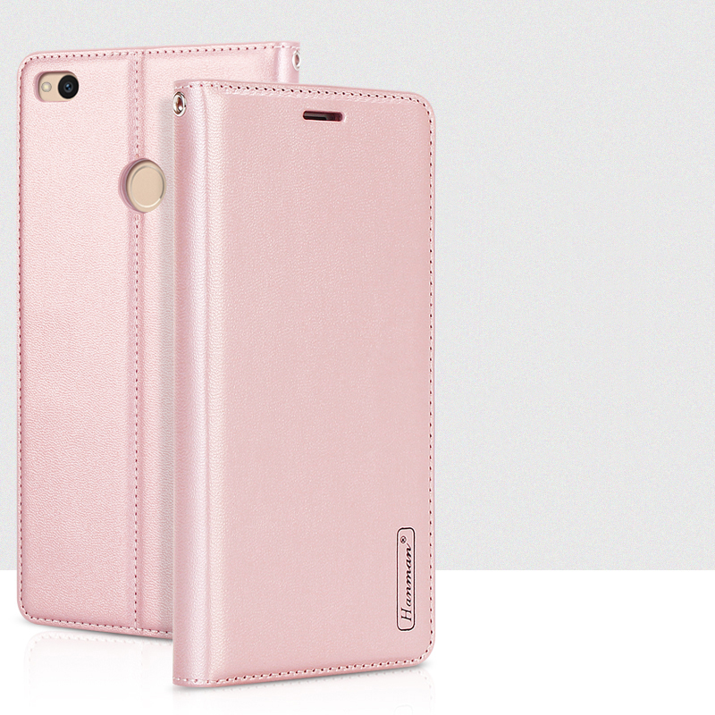 For Xiaomi Mi Mix Mi6 Mi 6 High Quality Genuine Magnet Stand Flip Cover Leather Case for Redmi 4X Note 4 Note 4X Shell + Lanyard