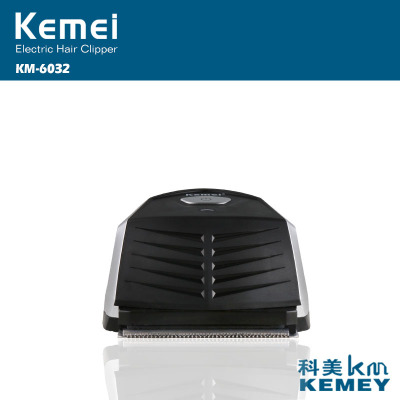 Kemei KM-6032 Professional Electric Hair Trimmer Hair Clipper Li-ion Battery Lasting Power Rechargeable Hair Trimmer Waterproof top sale kemei km 666 dry battery style electric hair clipper excluding battery