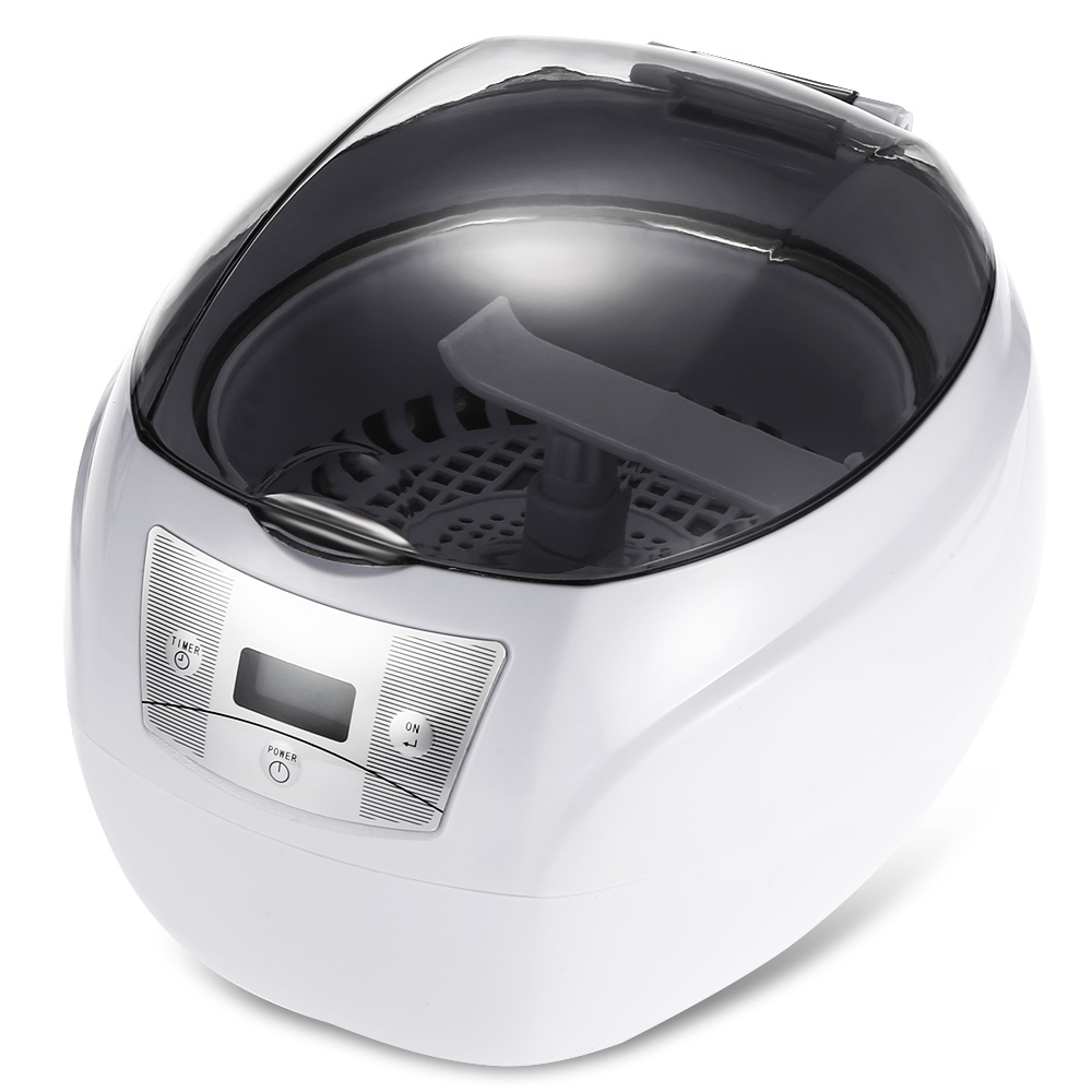 SKYMEN 750ML Ultrasonic Cleaner 35W EU Plug Professional Washing Equipment Jewelry Watches Digital Ultrasonic Mini Cleaner korff средство двухфазное для снятия макияжа 150 мл