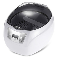 SKYMEN 750ML Ultrasonic Cleaner 35W EU Plug Professional Washing Equipment Jewelry Watches Digital Ultrasonic Mini Cleaner