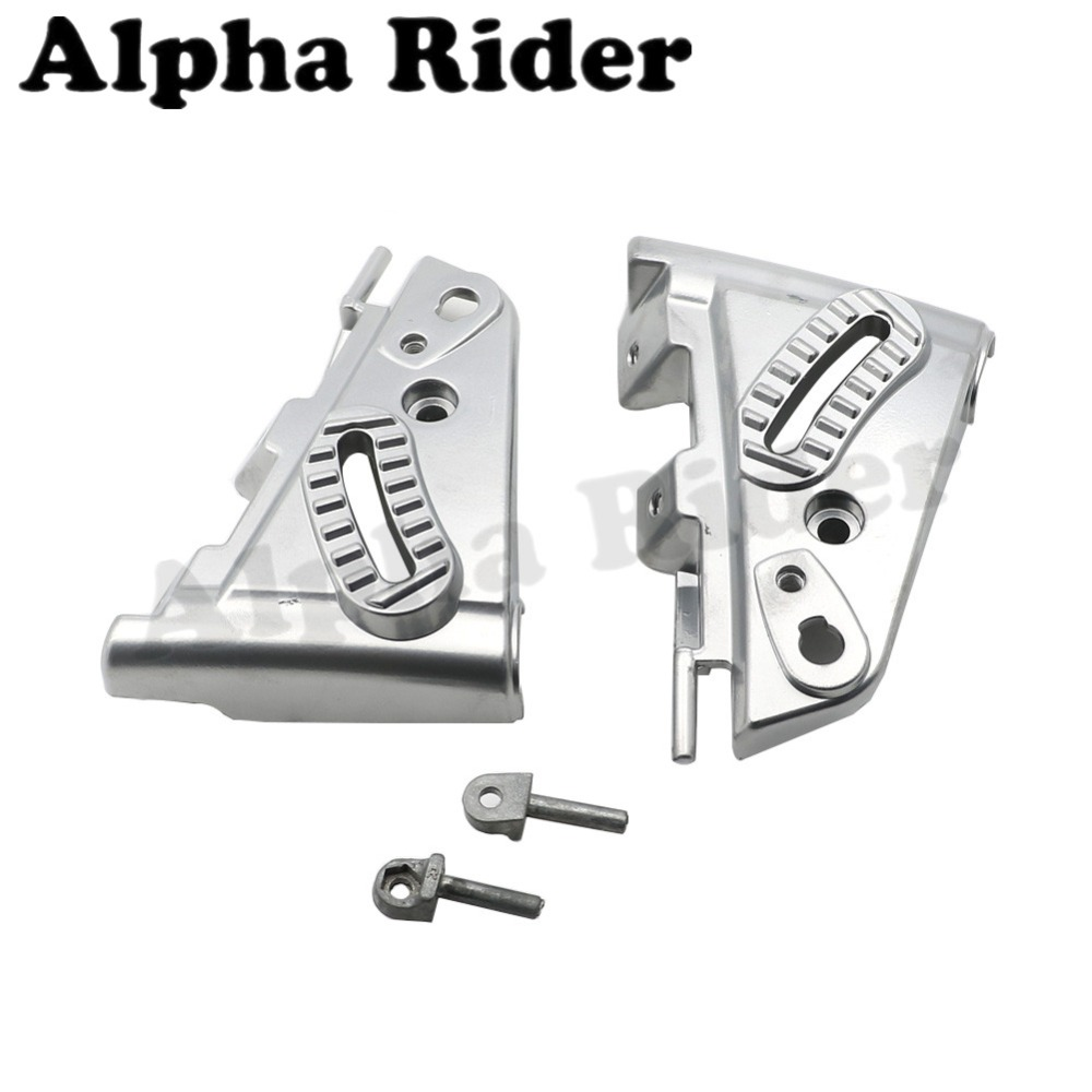for <font><b>BMW</b></font> R1200GS GS1200 04-12 Motorcycle Windshield WindScreen Mounting Cover Kit Aluminum R 1200 <font><b>GS</b></font> <font><b>R1200</b></font> <font><b>GS</b></font> <font><b>2004</b></font> - 2012 2011 image