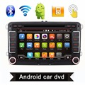 2 Din 7 Inch Quad Core Android 4.4 Car DVD Player GPS Navi PC For VW GOLF 5 6 POLO PASSAT CC JETTA TIGUAN Skoda/Seat 3G USB BT