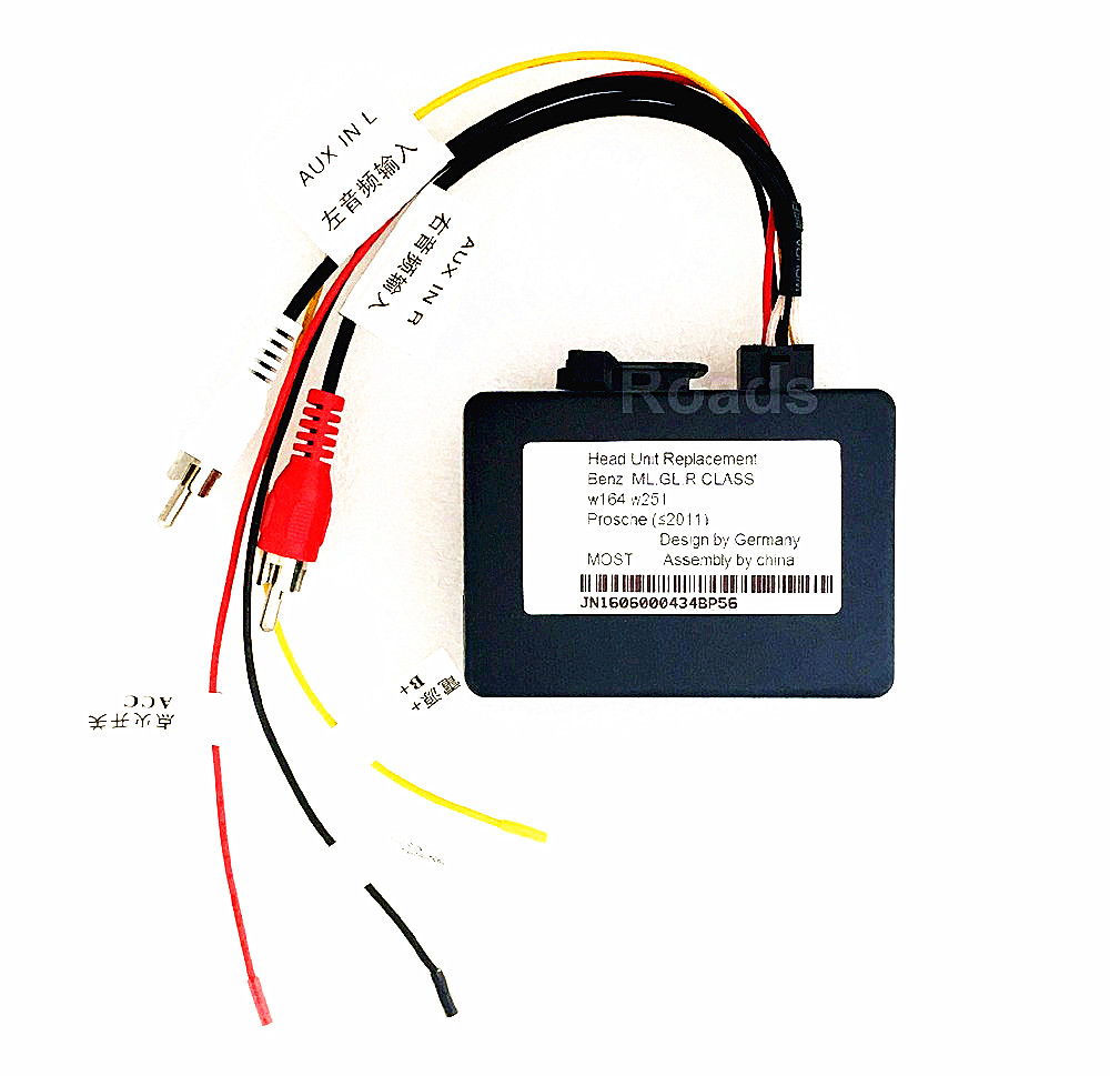 Car Monitor Optic Fiber box only fits for our store Android 7.1 Mercedes Benz car DVD players our discovery island 4 dvd