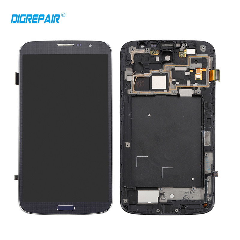 100 Test Black For Samsung Galaxy Mega 6 3 I9200 I9205 LCD Display Touch Screen Digitizer