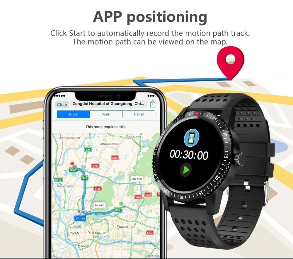 DIGOOR Smart Watch women IP67 waterproof Support Blood pressure  Women Cycle monitoring GPS tracker Heart rate Fitness bracelet Smartwatch (5)
