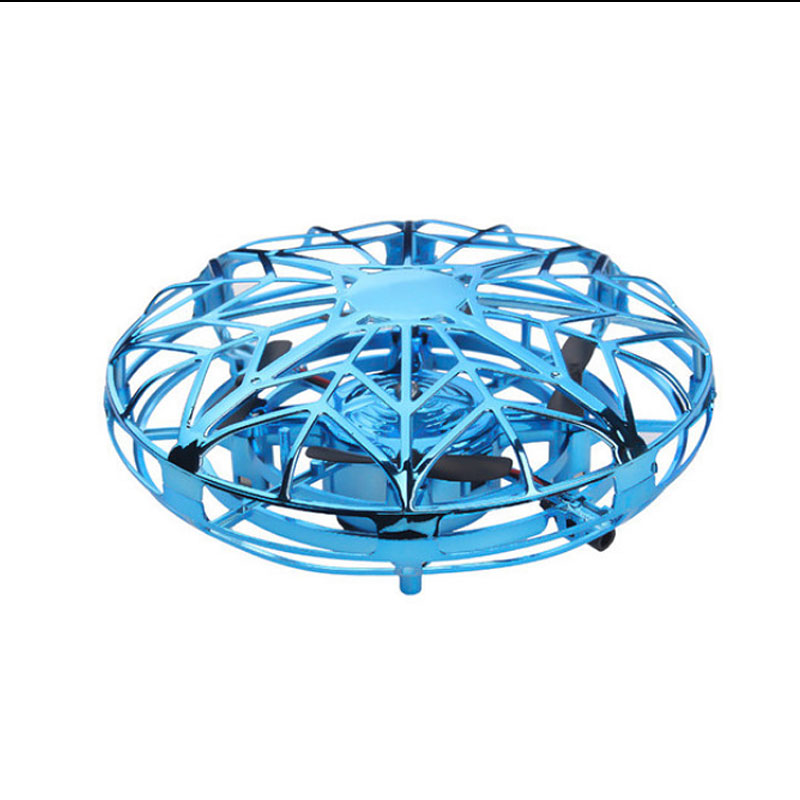 Image 4 - Mini infrared stainless steel induction drone HD suspension aircraft UFO model toy adult children birthday gift-in RC Airplanes from Toys & Hobbies