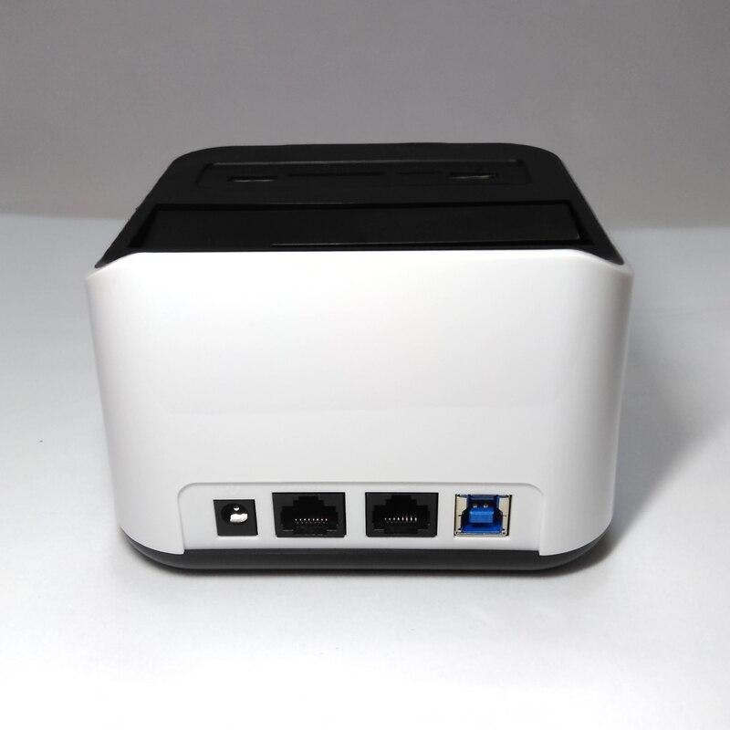 2.5 /3.5 pouces DISQUE DUR SATA station D'accueil avec Routeur wifi Réseau NAS Stockage fonction avec SD TF lecteur USB3.0 port