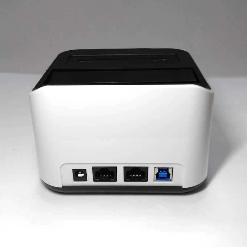 2.5 /3.5 pouces SATA HDD Docking station avec wifi Routeur NAS Network Attached Storage fonction avec SD TF lecteur de cartes USB3.0 port