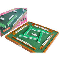 Free shipping Mini Mahjong Portable Majiang Set Table Game Mah jong Travel Travelling Mahjong Games board game indoor games