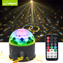 Portable Wireless Bluetooth Speaker+9w Rgb Led Smart Led Light Bluetooth Speaker Disco Dj Party Music Player With Remote Control