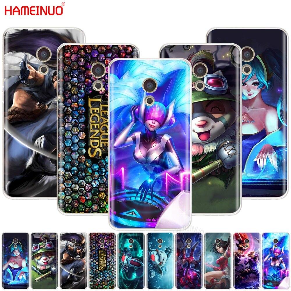 HAMEINUO lol League of Legends крышка телефона чехол для Meizu M6 M5 M5S M2 M3 M3S MX4 MX5 MX6 PRO 6 5 U10 U20 Примечание плюс