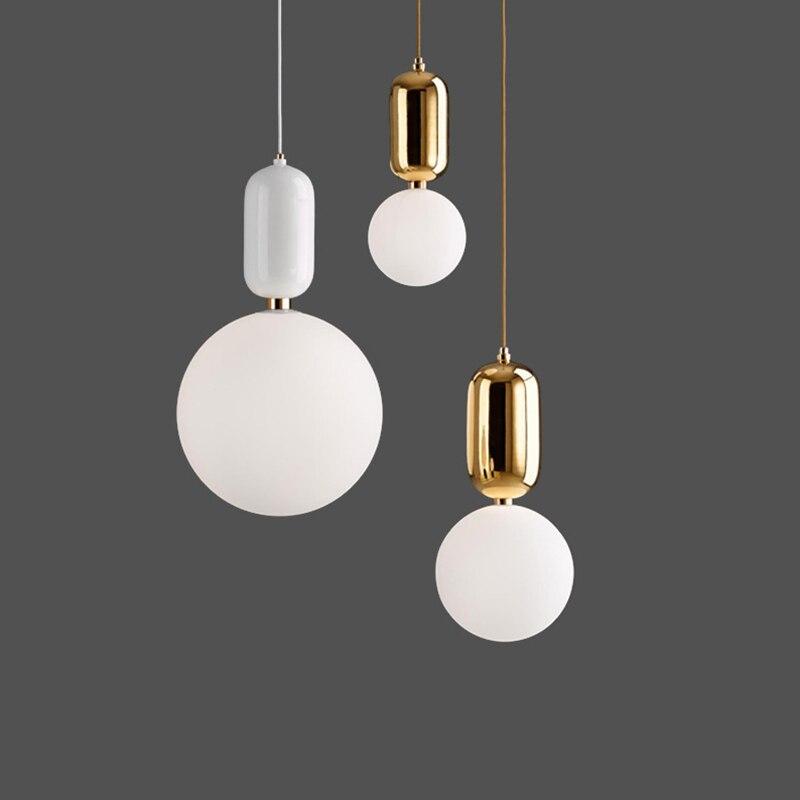 Livewin Pendant Light Gold Holder Lustres For Living Room Nordic Art