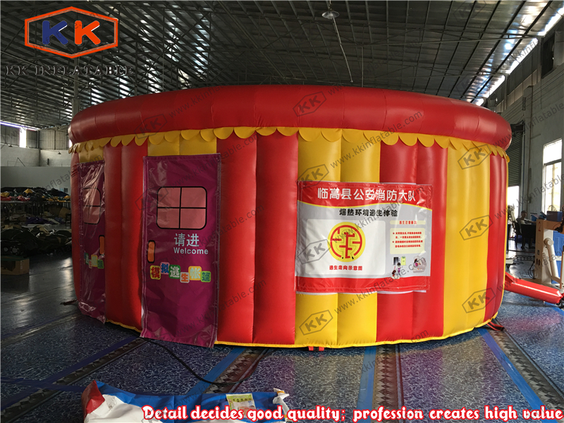 Round Tunnel Inflatable fire escape inflatable tent inflatable tent fire drill simulated smoke roomRound Tunnel Inflatable fire escape inflatable tent inflatable tent fire drill simulated smoke room