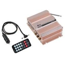 SCLS HONGXING 360 W 12 V 2 Canaux Salut-fi Voiture Stéréo Amplificateur FM Radio MP3 AMP Haut-Parleur et À Distance