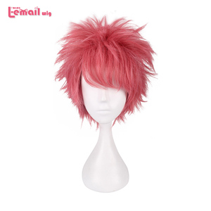 Image 5 - L mail parrucca FAIRY TAIL Parrucche di Cosplay Natsu Dragneel Wendy Marvell Lucy Heartfilia Erza Scarlet Parrucca Sintetica Cosplay Parrucca