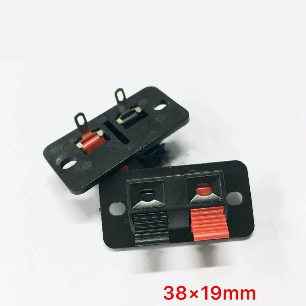 Wholesale 300pcs 2PIN PUSH Red and Black Spring Push Type Speaker ...