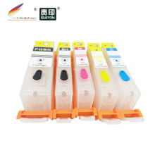 RCC670-5) многоразовый картридж чернильный картридж для принтера Canon принтерам PIXMA MG6860 MG5760 MG6865 MG5765 PGI-670 PGI670 PGI 670 BK C M Y
