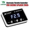 Автомобильный электронный контроллер дроссельной заслонки гоночный ускоритель мощный усилитель для Suzuki splash 2008-2019 Тюнинг Запчасти аксессу...