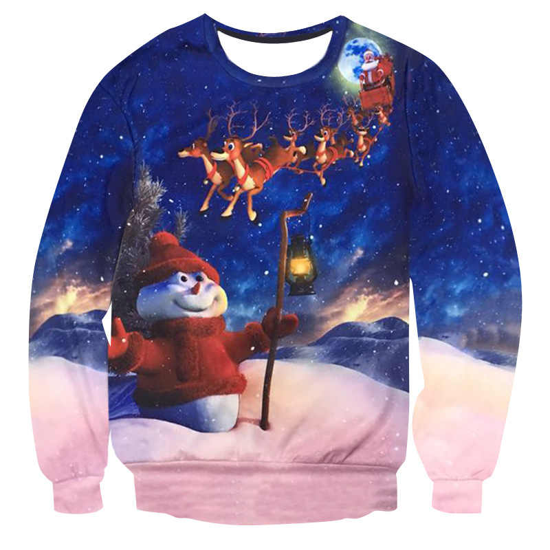 Detail Feedback Questions About Ugly Christmas 3d Sweater Santa