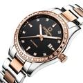 Швейцарские карнавальные женские часы люксовый бренд женские автоматические механические часы женские водонепроницаемые relogio feminino 8685L-9