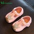 Claladoudu Bebé Sapatos Mocassins De Cristal Vestido de Recém-nascidos Sapatos Para Crianças Princesa Meninas Macias Primeiros Caminhantes Palmilha 10.5-15 CM