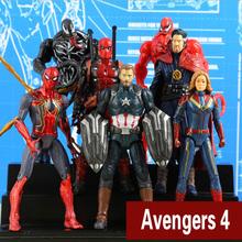 2019 Marvel Avengers 4 Buster Hero Iron Man Surprise captain Dr singular venom Spidermanflashing