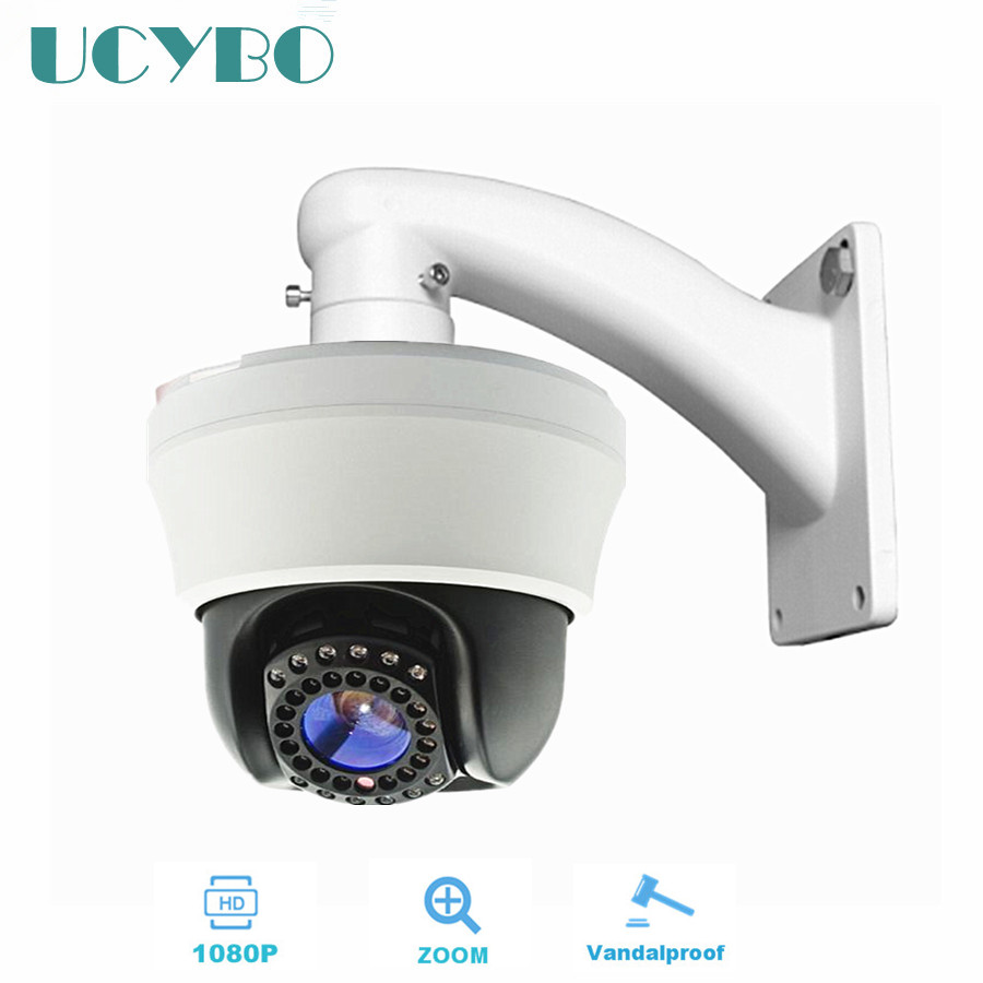 cctv ahd mini ptz 1080P HD speed dome camera pan tilt 2.0mp 2.8-12mm varifocal zoom IR Cut sony sensor ahd surveillance camera hd 1080p pan