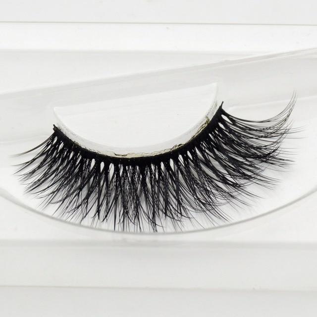 a55a9d05b25 visofree Scarlett Beauty mink eyelashes 3D MINK False Eyelashes Messy Cross Dramatic  Fake Eye Lashes Professional