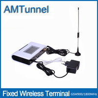 GSM FWT Fixed Wireless Terminal With Screen For Connecting Desktop Phone To Make Phone Call Or