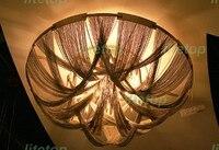 Cadeia de Alumínio da Luz de teto Moderna Iluminação Novidade cadeia de alumínio da lâmpada do teto de alumínio iluminação clássico