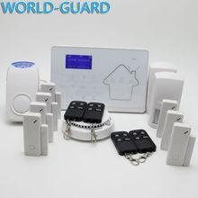 Android IOS APP 433Mhz Sensor Dual network GSM PSTN Sim Call LCD Smart Dislay Touch Keypad