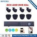 SOCOTECH 1080N 720 P HD Открытый Камеры Безопасности Системы 1080 P HDMI CCTV ВИДЕОНАБЛЮДЕНИЯ 8-КАНАЛЬНЫЙ DVR Комплект 1 ТБ HDD AHD Камеры набор