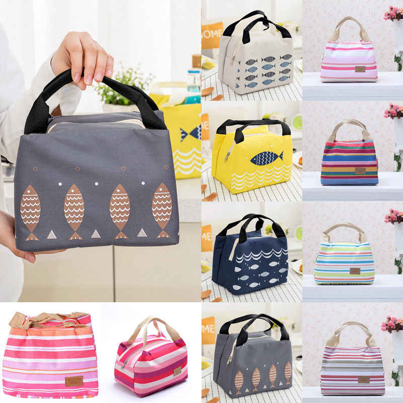 Lunch Bag Insulated Cooler Picnic Storage Box For Work Men/Women Kids School Office Lunch Bag Package