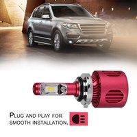 8pcs LED Car Headlight Chips Super Bright Powerful Headlamp Auto Accessory