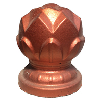 Decorative plastic concrete lotus mold for garden home