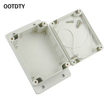 OOTDTY 1 Pc Waterproof Plastic Electronic Project Box Enclosure Cover CASE 115x90x55mm