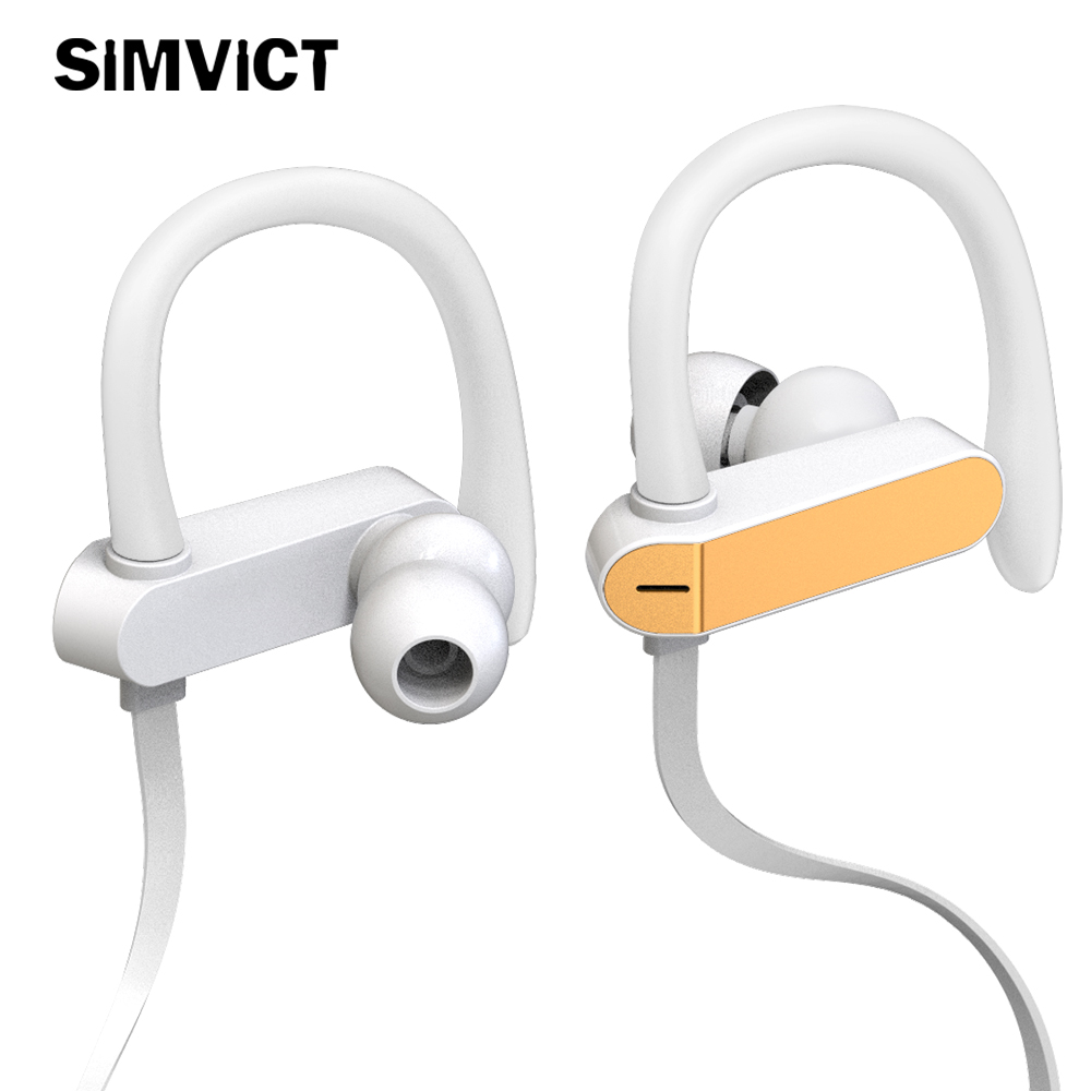 Sport Earbuds Headphone Noise Isolating Ear Hook Earphone Bass Headset with Mic for Mobile phones Universal for MP3 MP4