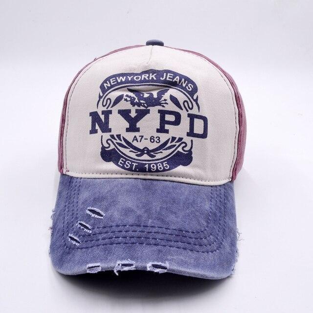 De moda de camionero Hip Hop sombrero policía carta gorra Snapback Gorras  Unisex Gorras Hombre de b67915c2039