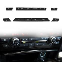 12 sztuk przycisk Caps A/C przełącznik ogrzewania zestaw do BMW F07 GT/F10/F11 F01/F02 Car Styling części do wnętrza przełączniki samochodowe i przekaźniki nowy