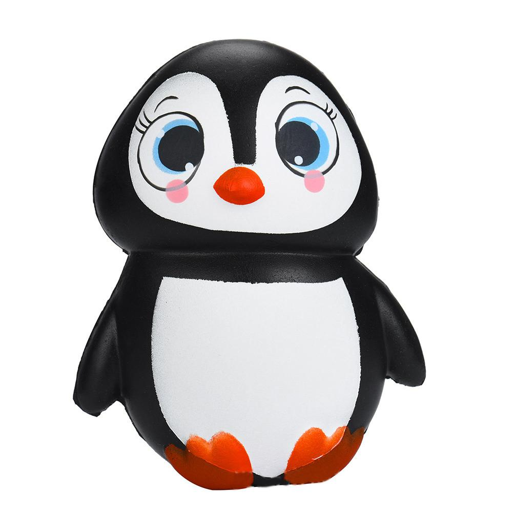 Cute Female Penguin Squishy Slowing Rising Soft Squeeze Scented Stress Relief Toys As Gift Decoration