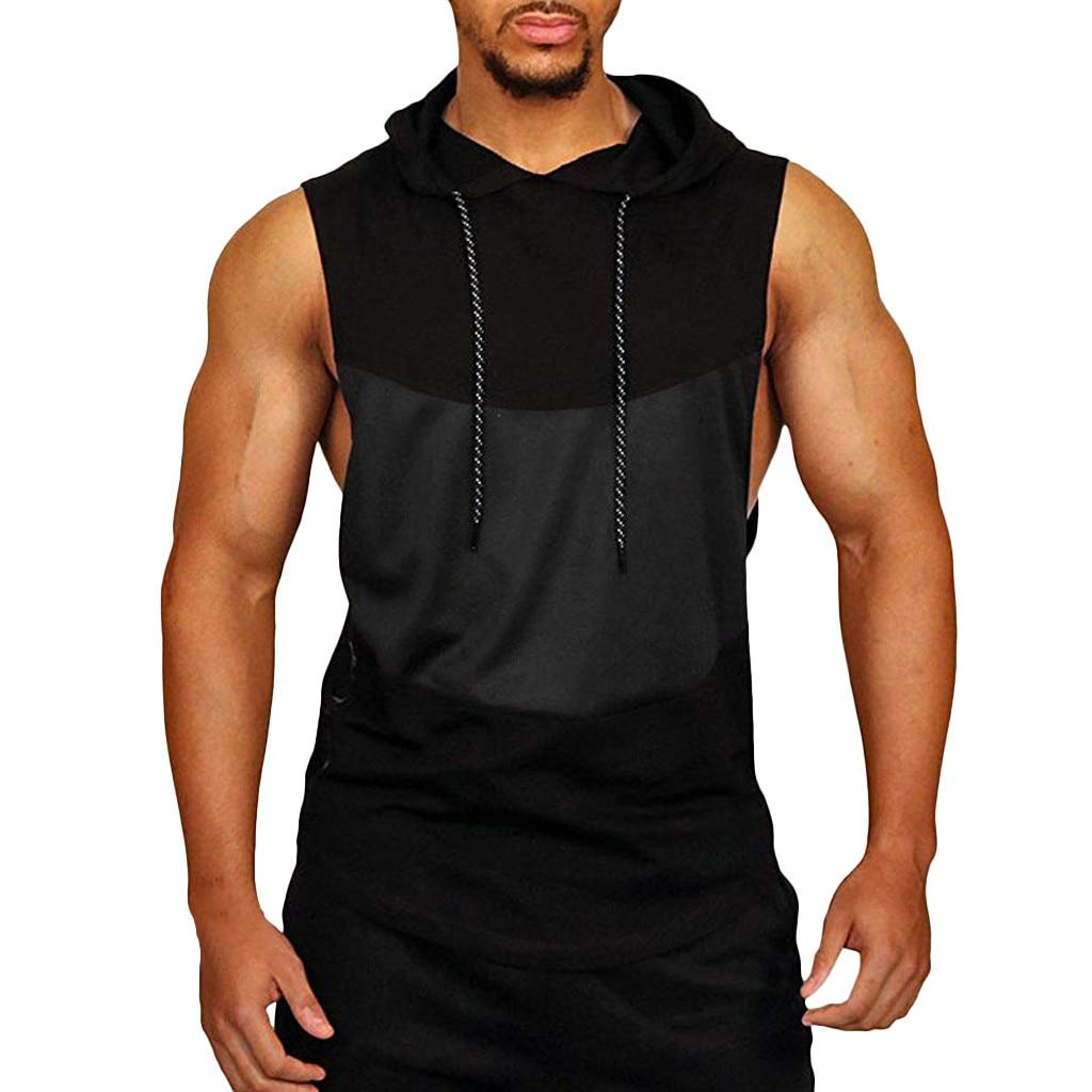 Tank Top Men Fitness Gym Mens Clothing Tank Tops