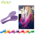 1PC Temporary Hair Color Chalk Dye Powder New Dexe Beauty Gaga 6 Color Halloween Party MakeupDisposable DIY Hair Styling Kit