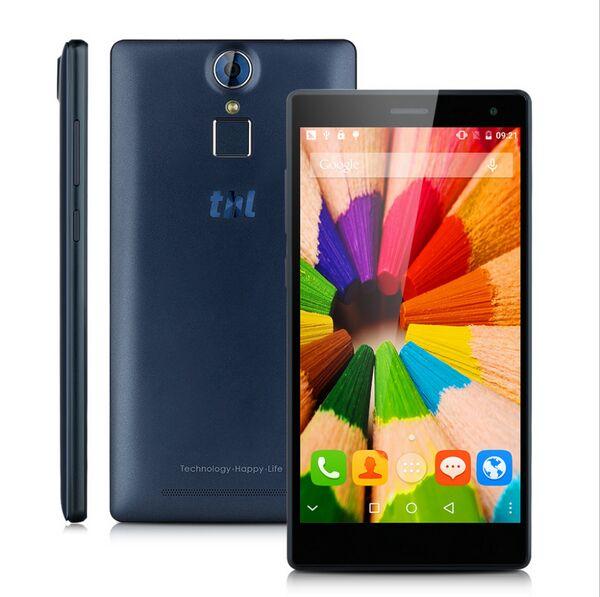 "<font><b>DHL</b></font> free ship THL T7 Finger ID Smartphone 1280x720 5.5"" HD 4800mAh MTK6753 Octa Core 4G LTE 3GB RAM 16GB ROM 13.0MP Mobile Phone"