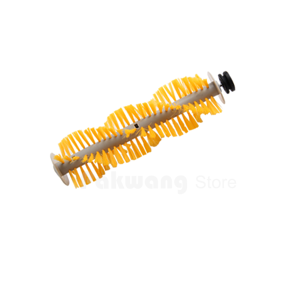 Original Brush for A325 Robot vacuum cleaner spare parts hair brush 1 pc Yellow for cleaner a320 or a325 hair brush rubber brush for robot vacuum cleaner a320 or a325 vacuum cleaner parts