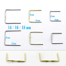 Square Buckle Button Crystal Prisms of Chandelier Parts Crystal Bead Curtain Slitless Connector DIY Jewerly Decor Accessories(China)