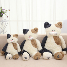 New plush toys brown cat baby doll cute cat toy gifts for girls