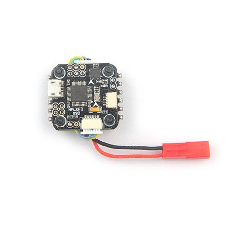 Mini F3 OSD Controller with 4 In 1 10A BLheli_S ESC 20mm x 20mm for DIY 2S-3S FPV micro indoor Racing Drone RC quadcopter teeny1s f4 flight controller board with built in betaflight osd 1s 4 in1 blhelis esc for diy mini rc racing drone fpv