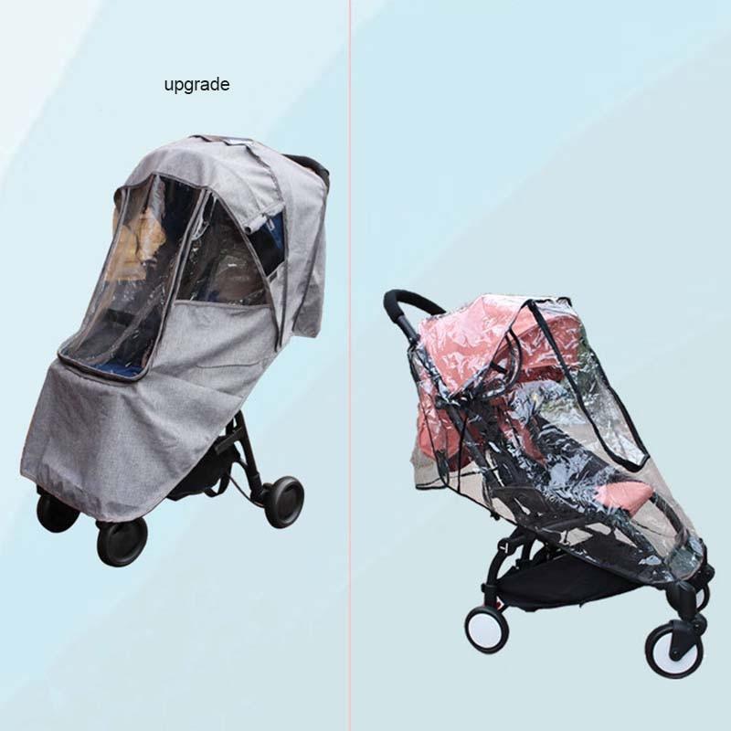 Baby stroller Rain cover Upgrade Original accessories Universal Suitable most baby stroller Babyyoya YoyaPLUS Yoyo Yoya Babysing in Strollers Accessories from Mother Kids
